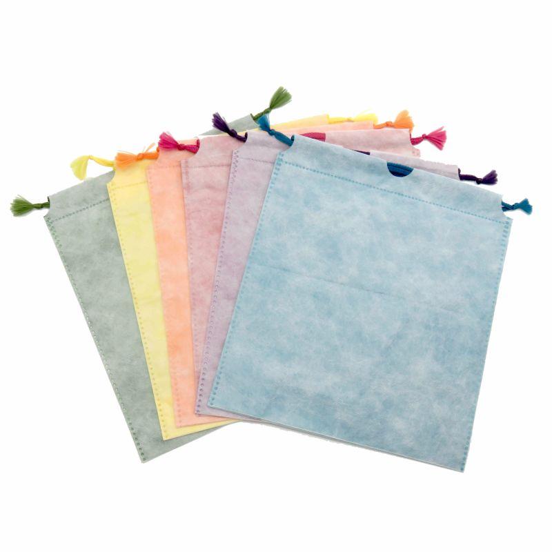 和紙風巾着袋